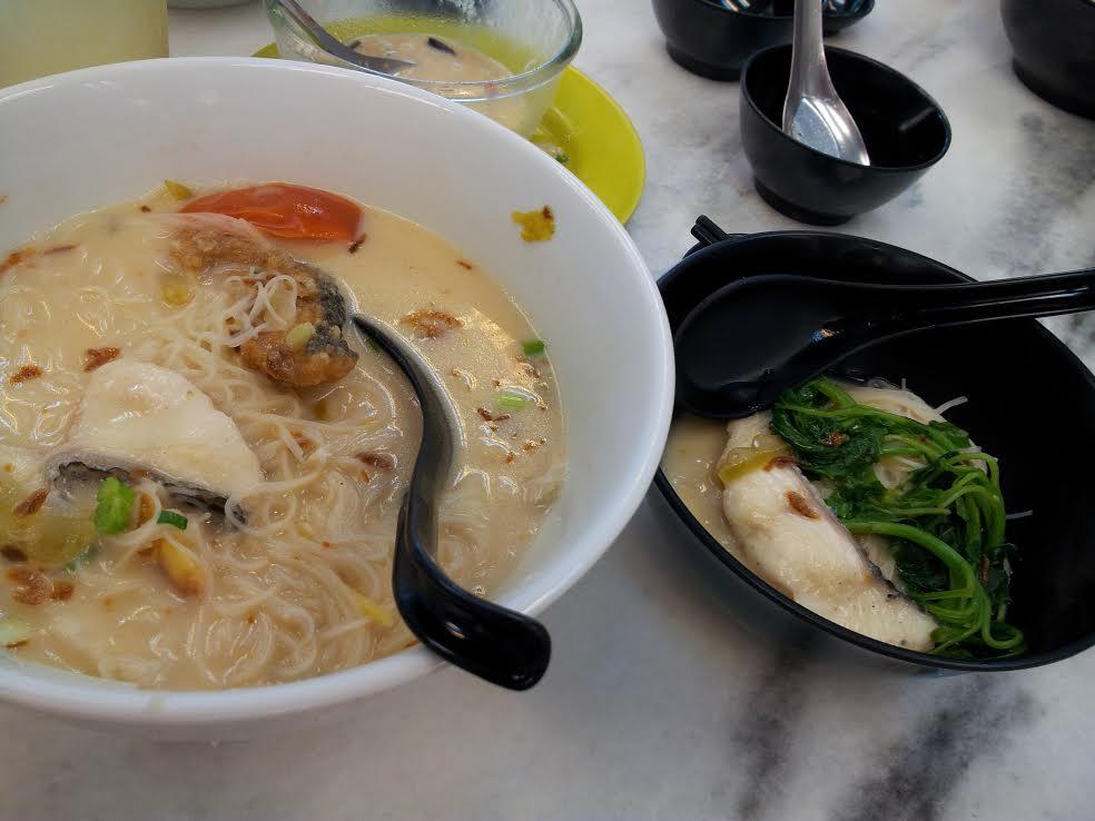 Fish head noodle 2
