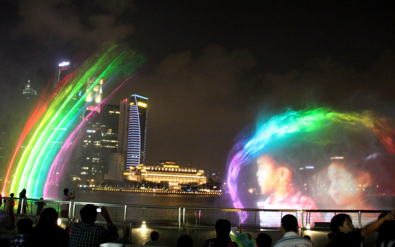 Marina Bay Sands Water Show