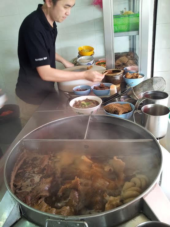 Tangkak beef noodles - 2