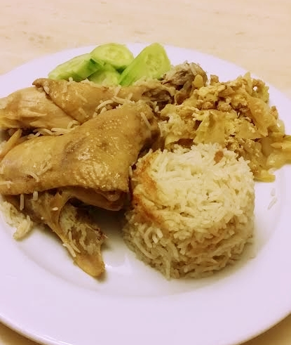Rice pot chicken rice 3
