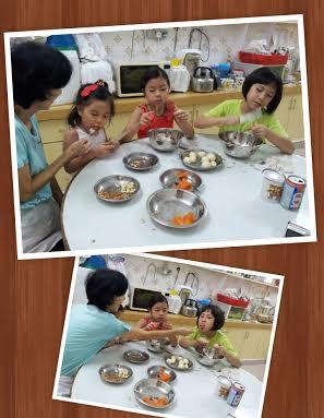 helping in d kitchen 22 dec 2013