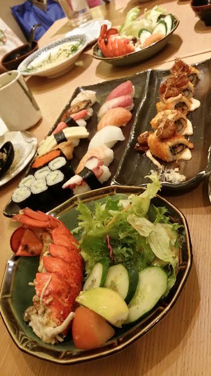 Sushi zanmai Sun 6 jul 2014